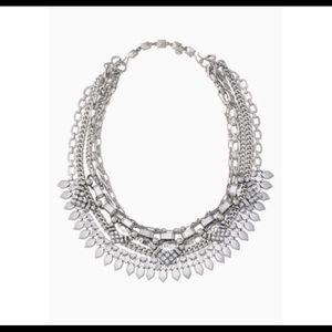 Stella & Dot Silver Sutton Necklace